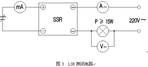 固态继电器与通常的电磁继电器不同:无触点