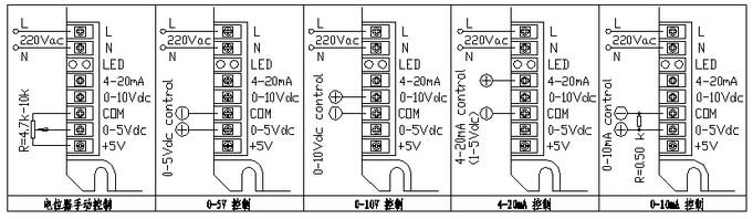 波整流直流调压的接线图,适用于单相大电流阻性负载(负载另一端接零线