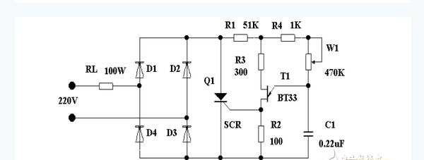 可控硅交流调压器模块电路设计